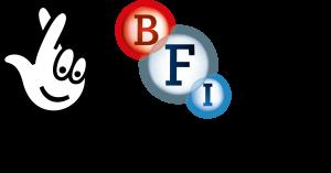 BFI Film Forever Lottery Funded logo
