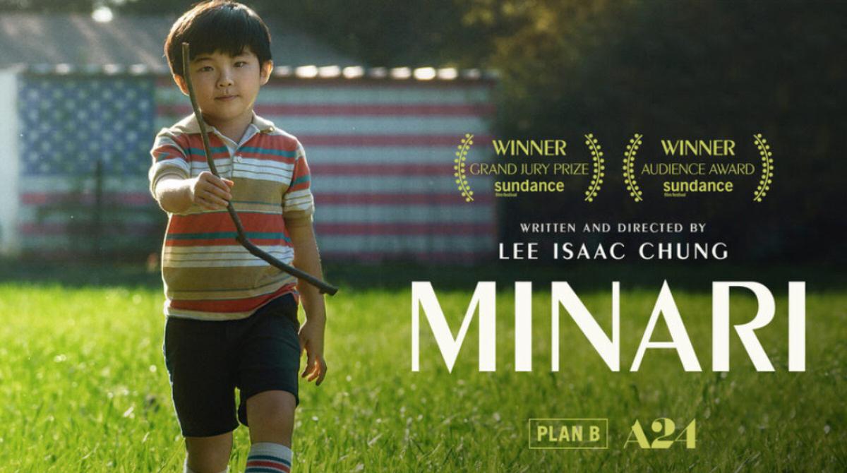 Minari Film Banner